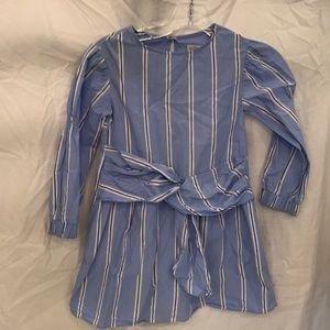 Zara cotton stripe dress